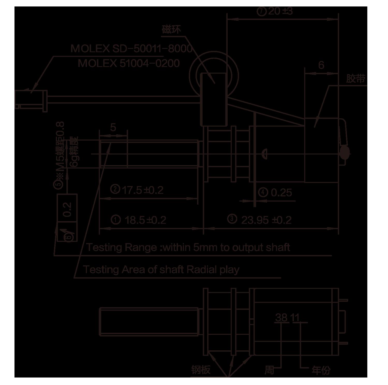 DC-Motor_12JFG12151_Outline-drawing